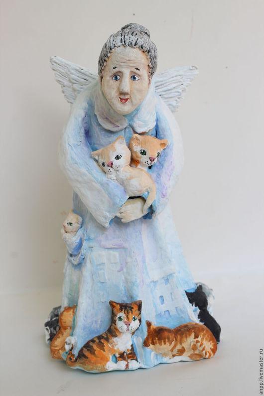 Куклы и игрушки ручной работы. Ярмарка Мастеров - ручная работа. Купить Кукла -Ангел Бабушка. Handmade. Подарок, необычные подарки