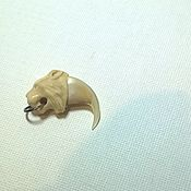 Украшения handmade. Livemaster - original item Lynx claw with pommel. Handmade.