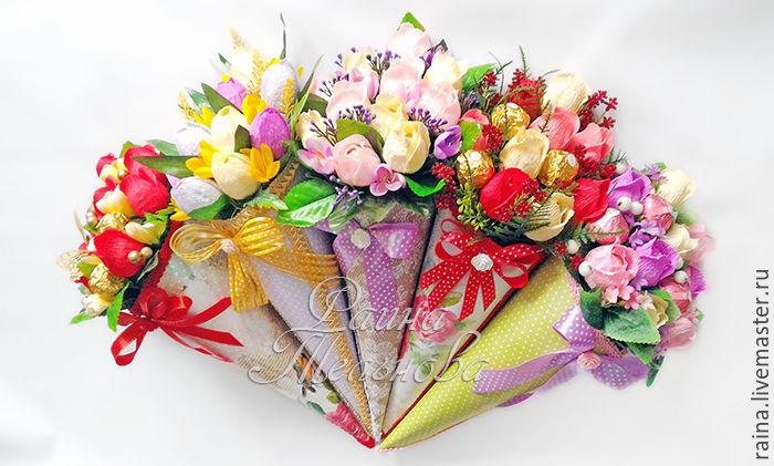 Где можно заказать букеты из конфет металлические розы купить