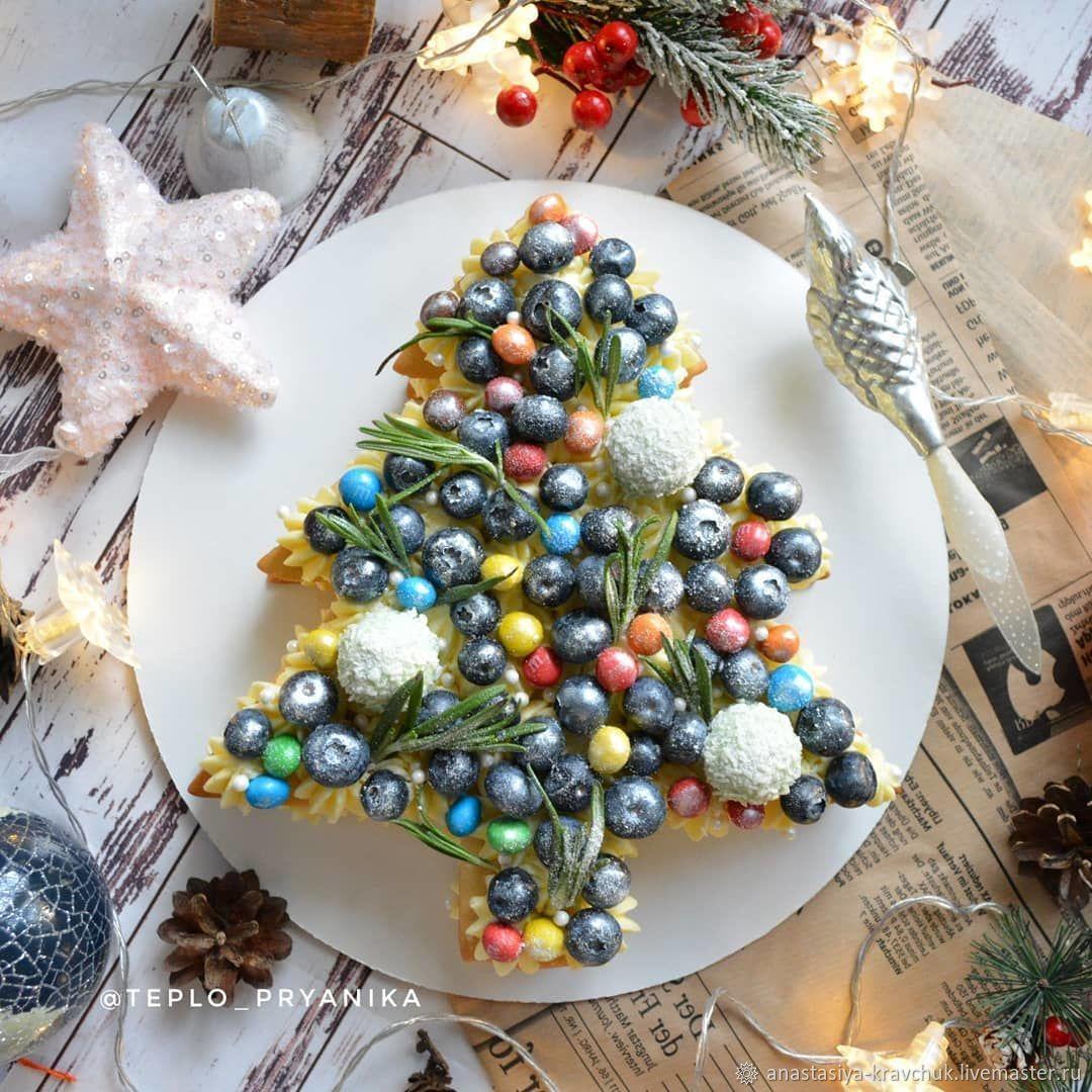 Торт ёлочка. Медовик с ягодами, Подарки, Москва,  Фото №1