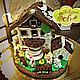 Кулинарные сувениры ручной работы. Пряничный домик с будкой для собаки. Пряничная студия - Пекарня Софи. Интернет-магазин Ярмарка Мастеров.