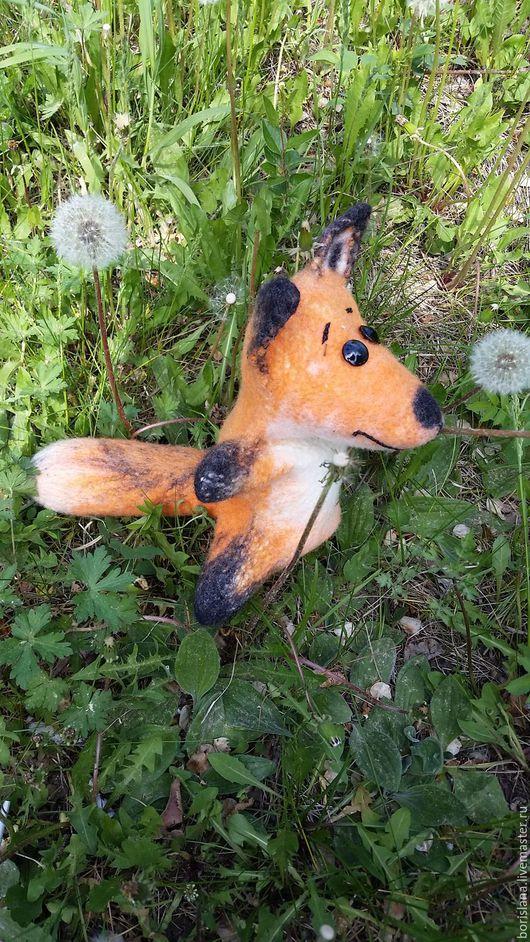 лисенок,  лиса бибабо, перчаточный лис, лиса на руку,  лиса для кукольного театра, развивающая игрушка, лисенок игрушка, лисица бибабо, перчаточная игрушка, валяная игрушка. лисица из шерсти