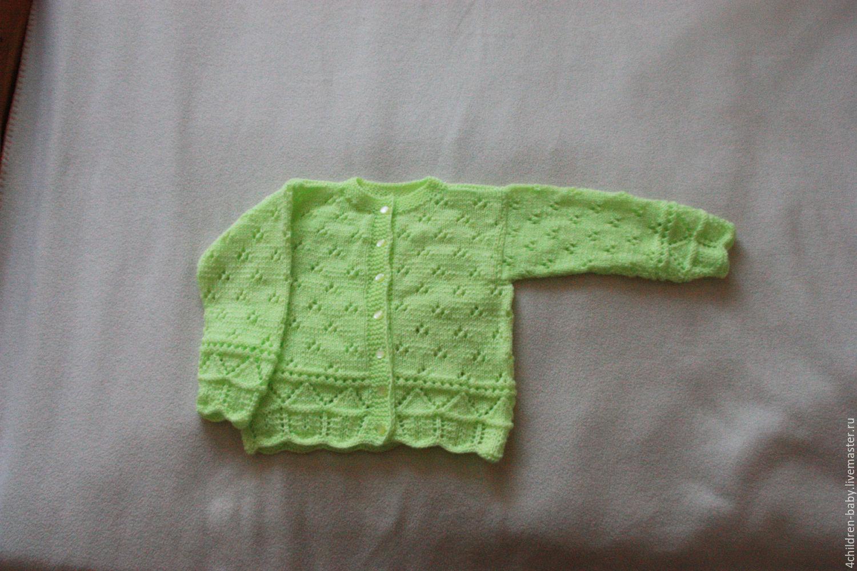Clothes for Girls handmade. Livemaster - handmade. Buy Openwork jacket.Handmade, knitting, knitted, jacket knitted, acrylic