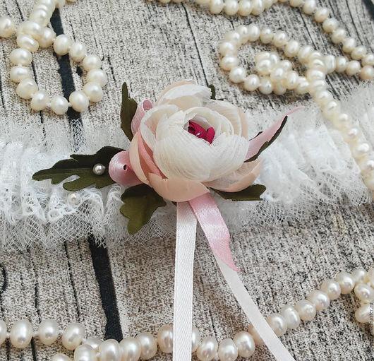 подвязка свадебная подвязка для невесты подвязка в стиле бохо подвязка на свадьбу