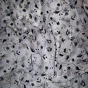 Материалы для творчества ручной работы. Ярмарка Мастеров - ручная работа Натуральный шелк шифон ARMANI. Handmade.