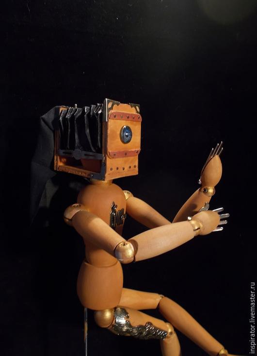 Человечки ручной работы. Ярмарка Мастеров - ручная работа. Купить Инспирация 005 - Дагерротипус. Handmade. Разноцветный, nikon 2015