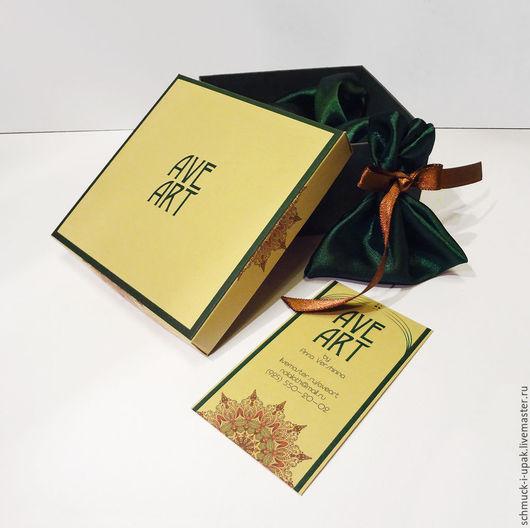 Упаковка ручной работы. Ярмарка Мастеров - ручная работа. Купить Упаковка для Анны Вершининой. Handmade. Упаковка, коробка для украшений