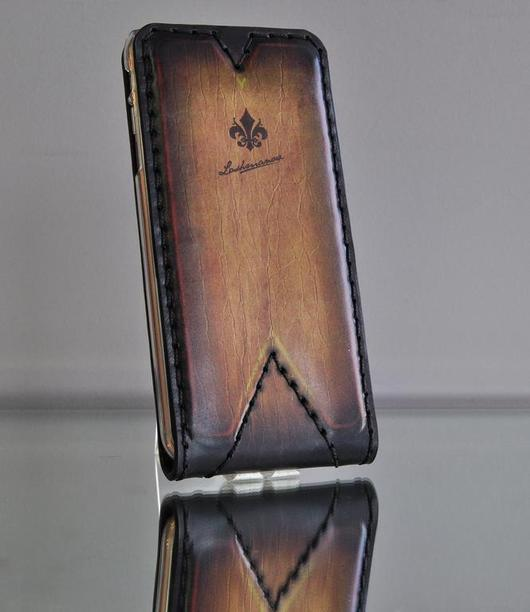 Для телефонов ручной работы. Ярмарка Мастеров - ручная работа. Купить Чехол для  iPhone 7/7 plus/6/ 6s /6 plus из кожи ручной работы №110. Handmade.