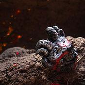 """Украшения ручной работы. Ярмарка Мастеров - ручная работа """"Огненный МедвеФавн"""", брошь в стиле фэнтези. Handmade."""