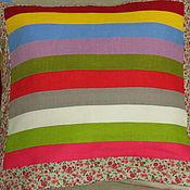 Подушки ручной работы. Ярмарка Мастеров - ручная работа Лоскутные подушки. Handmade.