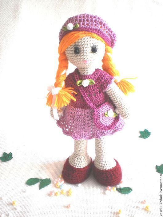 """Человечки ручной работы. Ярмарка Мастеров - ручная работа. Купить Кукла """"Агнесса"""". Handmade. Вязаная игрушка, Вязание крючком"""