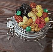 Банки ручной работы. Ярмарка Мастеров - ручная работа Банка с орехами и сухофруктами. Handmade.