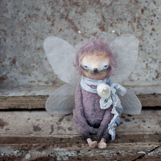 Коллекционные куклы ручной работы. Ярмарка Мастеров - ручная работа. Купить Вуди. Handmade. Комбинированный, бабочка, акварельные карандаши