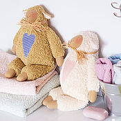 Куклы и игрушки ручной работы. Ярмарка Мастеров - ручная работа Бе и Ме. Handmade.