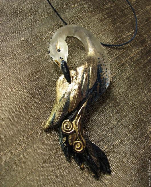"""Кулоны, подвески ручной работы. Ярмарка Мастеров - ручная работа. Купить Кулон """"Синяя птица"""". Handmade. Тёмно-синий, птица"""