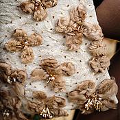 """Одежда ручной работы. Ярмарка Мастеров - ручная работа Пальто """"Сливочный каракуль"""". Handmade."""