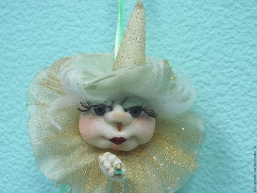 Человечки ручной работы. Ярмарка Мастеров - ручная работа. Купить Кукла-попик на удачу. Ведьмочка. Handmade. Кукла ручной работы