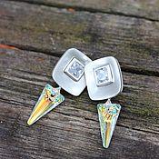Украшения handmade. Livemaster - original item earrings studs. Handmade.