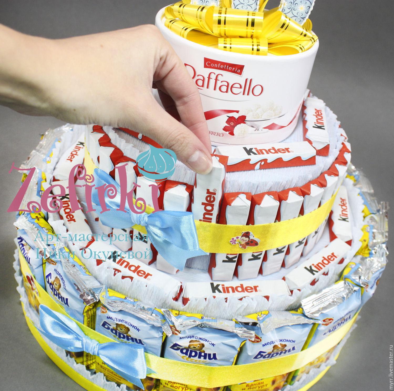 Как сделать торт из барни своими руками мастер класс