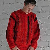 Одежда ручной работы. Ярмарка Мастеров - ручная работа Вязаная туника – свитер ручной работы «Женева» Авторская работа. Handmade.
