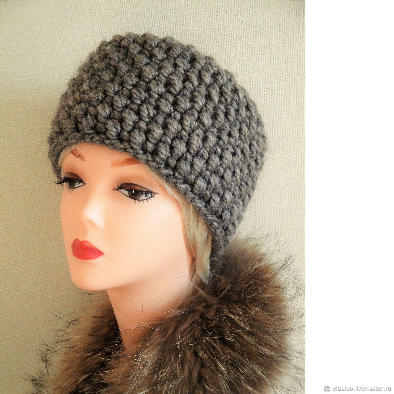 вязаная шапка кубанка лада купить в интернет магазине на ярмарке
