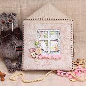 Канцелярские товары ручной работы. Ярмарка Мастеров - ручная работа Альбом-домик для малышки. Handmade.