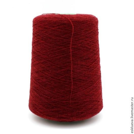 Вязание ручной работы. Ярмарка Мастеров - ручная работа. Купить Меринос 100%. Handmade. Бордовый, итальянская пряжа, пряжа
