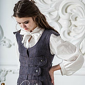 Одежда handmade. Livemaster - original item Blouse and dress felted