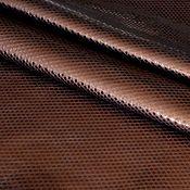 Материалы для творчества handmade. Livemaster - original item Genuine leather 1,1 mm Dark bronze. Handmade.