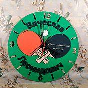 Часы классические ручной работы. Ярмарка Мастеров - ручная работа Настенные часы на заказ. Handmade.