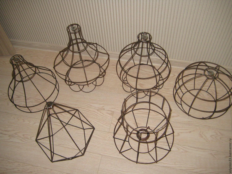 Изготовление абажуров на каркасе