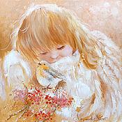 Картины и панно handmade. Livemaster - original item My cute angel. Handmade.