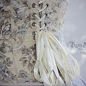 Одежда ручной работы. Ярмарка Мастеров - ручная работа Бельевой корсет Цветочный. Handmade.