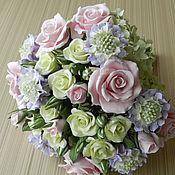 """Свадебные букеты ручной работы. Ярмарка Мастеров - ручная работа Букет невесты """"Розовый лед"""". Handmade."""