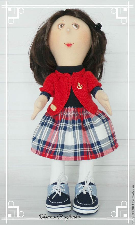 Коллекционные куклы ручной работы. Ярмарка Мастеров - ручная работа. Купить Катюша. Дети на прогулке. Handmade. Тёмно-синий, восторг