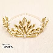 Украшения handmade. Livemaster - original item The crown of