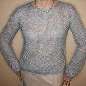 Одежда ручной работы. Ярмарка Мастеров - ручная работа пуловер паутинка. Handmade.