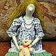Куклы Тильды ручной работы. Ярмарка Мастеров - ручная работа. Купить Тильда Алиса. Handmade. Тильда, хлопок
