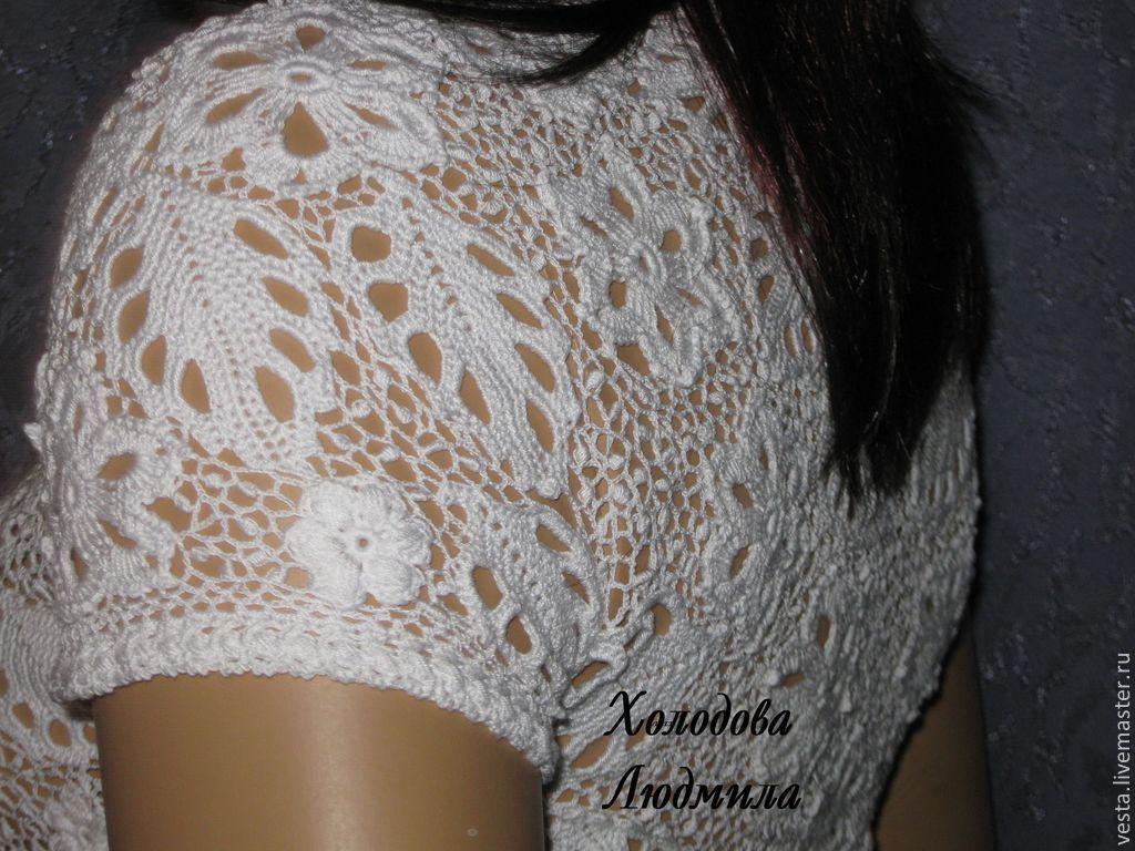 Блузка из кружева доставка