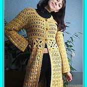 Одежда ручной работы. Ярмарка Мастеров - ручная работа Кардиган Солнечная дюна. Handmade.