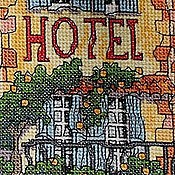 Картины и панно ручной работы. Ярмарка Мастеров - ручная работа Домики...магазинчик....отель..... Handmade.