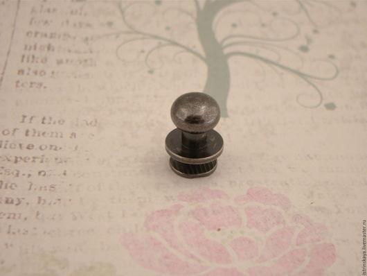 Другие виды рукоделия ручной работы. Ярмарка Мастеров - ручная работа. Купить Кабурная кнопка 810 блек никель. Handmade.