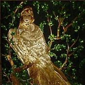 """Картины и панно ручной работы. Ярмарка Мастеров - ручная работа картина-панно """"Гамаюн"""". Handmade."""
