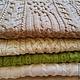 Текстиль, ковры ручной работы. Ярмарка Мастеров - ручная работа. Купить Декоративные подушки - наволочки. Handmade. Бежевый, вязанная подушка