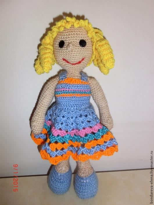 Человечки ручной работы. Ярмарка Мастеров - ручная работа. Купить Кукла вязаная. Handmade. Кукла, кукла ручной работы