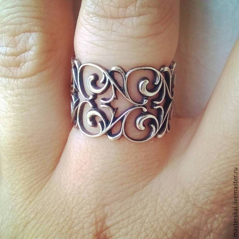 Ring Pattern - silver 925, Rings, Moscow,  Фото №1