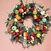 Цветы и флористика handmade. Livemaster - original item Copy of Spring wreath. Handmade.
