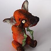Куклы и игрушки ручной работы. Ярмарка Мастеров - ручная работа Тедди Лис Фокс. Handmade.