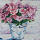Картины цветов ручной работы. Цветы любви. K&ART. Ярмарка Мастеров. Зеленый, розовые розы, интерьерная картина, масло