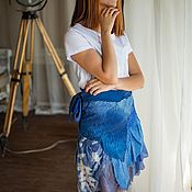 Одежда handmade. Livemaster - original item Boho-scented skirt, oversize. Handmade.